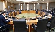 정세균 국무총리가 23일 세종 다솜로 정부세종청사에서 열린 국무회의를 주재, 모두발언을 하고 있다.