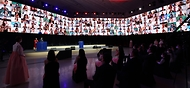 15일 서울 동대문디자인플라자(지난8일 녹화)에서 2021-2022 한중 문화교류의 해 개막식이 열리고 있다.