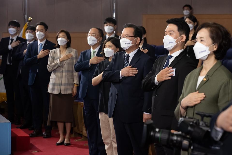 정부는 제2회 청년의날 기념식을 17일 정부서울청사에서 온·오프라인으로 동시 개최했다.