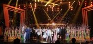 11월 30일 서울 영등포구 KBS홀에서 열린 2018 평창동계패럴림픽 G-100일 기념 '한중일 장애인예술축제' 서울 공연에서 가수 인순이 씨의 축하공연이 펼쳐지고 있다.