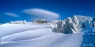제16회 국립공원사진공모전 최우수상 <한라산_한라 설산의 접시구름 / 고승찬>