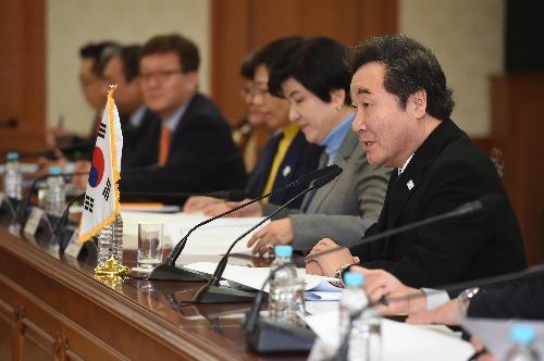 한-몽골 총리 회담