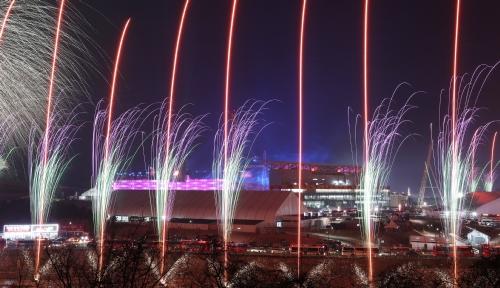2018 평창동계올림픽 개막식 불꽃 향연