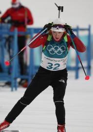 [2018 평창 동계올림픽대회] 바이애슬론 여자 추적 10km 메달 경기- 한국의 안나 프롤리나 출전