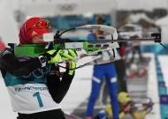 [2018 평창 동계올림픽대회] 바이애슬론 여자 추적 10km 메달 경기-독일의 로라 달마이어가 금메달