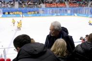 장웅 북한 IOC 위원 방문