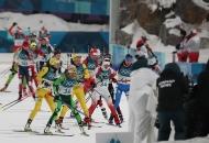 [2018 평창 동계올림픽대회] 바이애슬론 여자 추적 10km 메달 경기