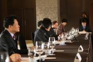 피우진 국가보훈처장이 12일 오전 서울 중구 더플라자 호텔에서 열린 신년 중앙보훈단체장 간담회에 참석하여 인사말씀을 하고 있다.