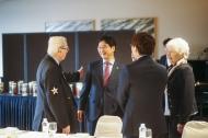 심덕섭 국가보훈처 차장이 12일 서울 중구 그랜드앰배서더 호텔에서 네덜란드 총리 방한 계기 참전용사 및 가족등 10명을 모시고 환영오찬에 참석하여 인사를 나누고 있다
