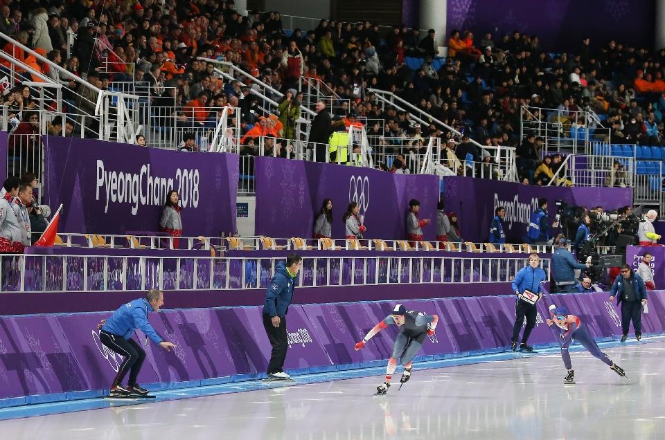 스피드스케이팅 남자 1,500m 메달 경기