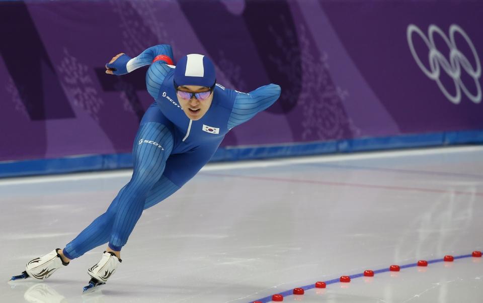 스피드스케이팅 남자 1,500m 메달 경기, 주형준  선수 출전
