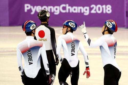 쇼트트랙 스피드 스케이팅 남자 5,000m 계주 예선, 한국 결승행