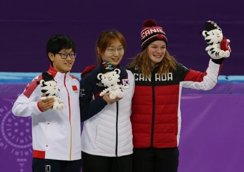 쇼트트랙 여자 1,500m 결승 경기, 최민정 선수 금메달