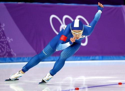 스피드스케이팅 여자 500m 결승 경기, 이상화 선수 은메달