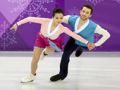 피겨 스케이팅 아이스댄스 프리댄스 메달경기, 민유라와 알렉산더 겜린 선수 출전
