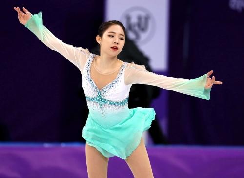 피겨 스케이팅 여자 싱글 스케이팅 쇼트 프로그램, 김하늘 및 최다빈 출전