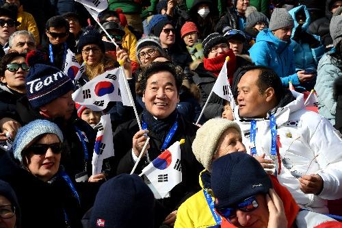 2018 평창동계올림픽 경기장 방문 및 관람