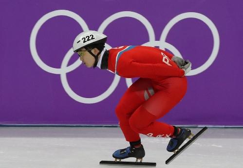 쇼트트랙 남자 500m 예선 경기, 남북한 선수  출전