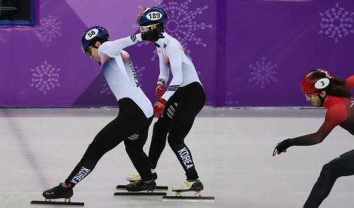 스트트랙 남자 500m 결승 경기, 한국 은메달과 동메달