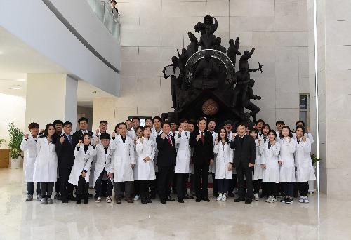 한국 뇌 연구원 방문