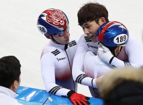 스트트랙 남자 5,000m 계주 결승 경기, 한국 선수 출전