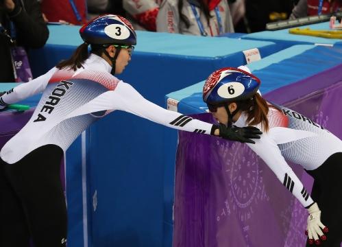 스트트랙 여자 1,000m 결승 경기, 한국 선수 출전
