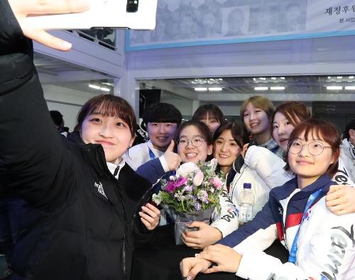 2018평창동계올림픽 한국 선수단의 밤 행사