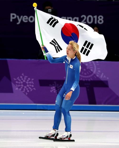 스피드스케이팅 여자 매스스타트 결승 경기, 김보름 선수 은메달