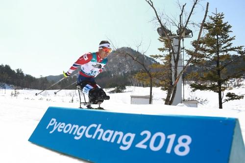 2018 평창동계패럴림픽 바이애슬론 남자 12.5km 좌식 경기