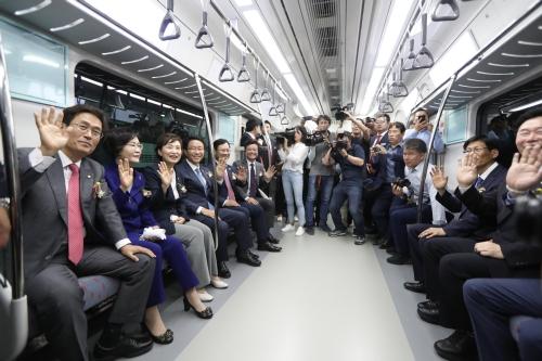 소사~원시 복선전철 민간투자시설사업 개통식