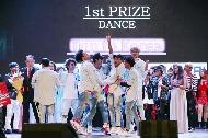 김정숙 여사가 9일(현지시간) 인도 뉴델리 시리포트 오디토리움에서 열린 K-POP 콘테스트 결선에 참석했다.