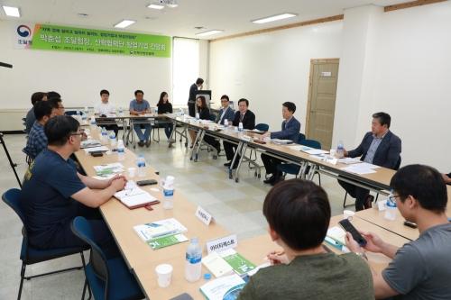 조달청장, 산학협력단 창업·벤처기업과 '현장소통'