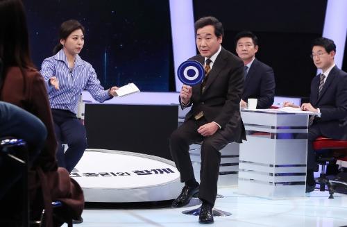 MBC '100분 토론' 800회 특집 출연