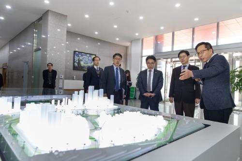 충북 혁신도시 현장방문
