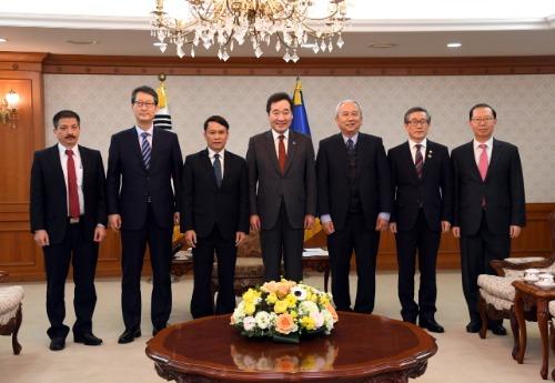 베트남 국영 통신사 사장 접견