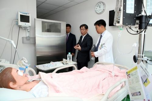 국가방사선비상진료센터 현장 방문
