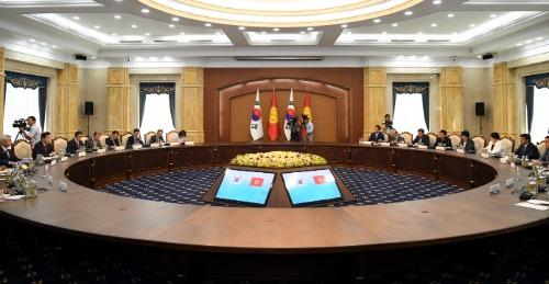 한-키르기스스탄 총리회담