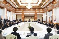 아시아-태평양 통신사기구(OANA) 대표단 접견