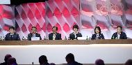 박양우 문화체육관광부 장관이 10일 제135회 국제올림픽위원회(IOC) 총회가 열린 스위스 로잔 스위스 테크 컨벤션 센터(STCC)에서 2024 동계청소년올림픽  프리젠테이션을 하고 있다.