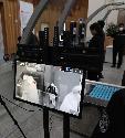 세종시 문화체육관광부 청사 출입구에 24일부터 코로나19 예방 조치를 위한 열감지기가 설치되었다.