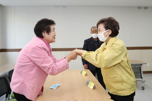 김현미장관, 장성 고령자복지주택 방문