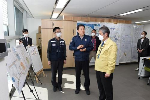 해외 입국자 코로나19 대응 현장 점검