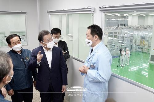 코로나19 극복 구미산업단지 방문