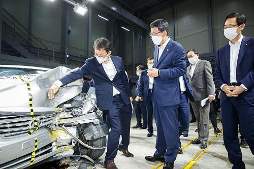 인공지능 기반 자동차보험 관련 서비스 시연 및 간담회
