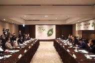 지난 7일 서울 중구 더플라자에서 열린 공공건축물 그린리모델링 총괄기획가 위촉식에서 김현미 국토교통부 장관이 발언하고 있다.