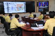 태풍 '바비(BAVI)' 상황대책회의
