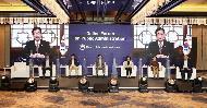 <p>행정안전부 진영 장관이24일 오후 서울 포시즌스 호텔에서 열린 '공공행정혁신 기반 및 사례'를 주제로 한 공공행정 온라인 포럼에서 영상메시지를 전하고 있다.<br></p>