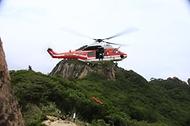 수리온(KUH-1FS)헬기 항공구조훈련