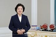 김정숙 여사, '2020 KWBL 휠체어농구리그' 시상식 축사