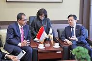 노석환 관세청장, 한-인도네시아 관세청장 회의 참석